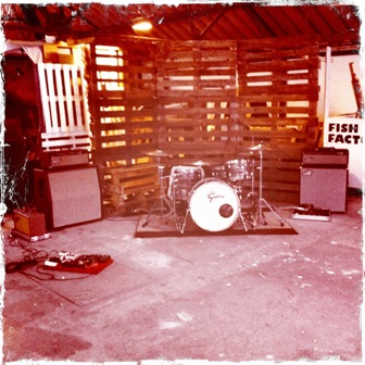 The stage @ Fish factory